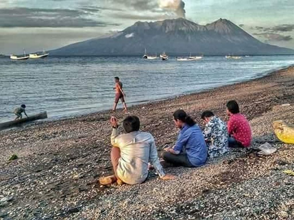 Pascatsunami, Warga Pulau Sangiang Mulai Beraktivitas Seperti Biasa