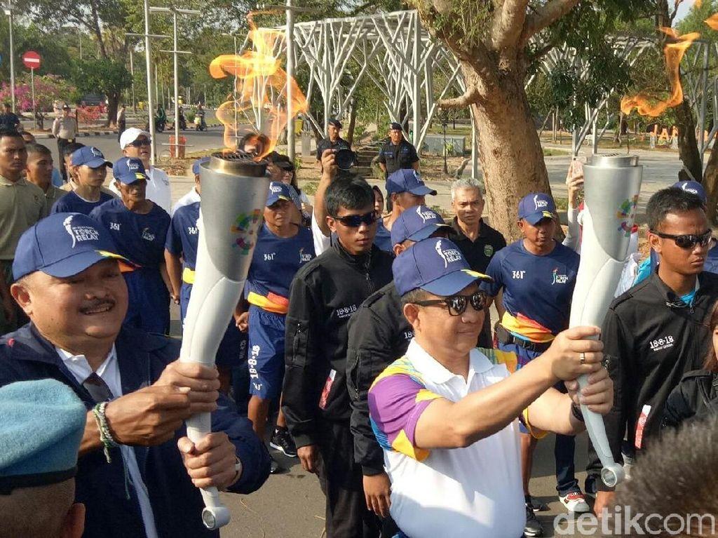 Kirab Obor Asian Games Sabtu Ini, Jangan Masuk Bandung Lewat Pasteur