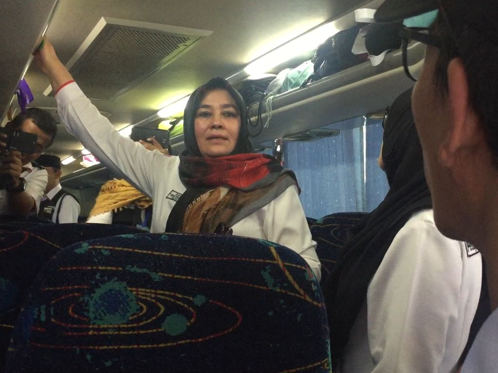 Kemenag Cek Layanan Bus Pengantar Jemaah Haji di Madinah
