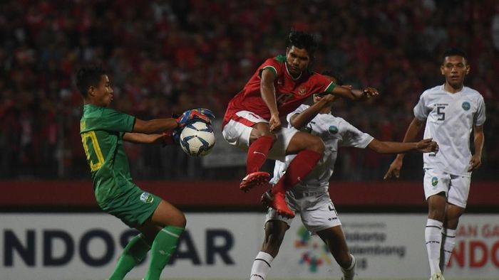 Timnas Indonesia U-16 di Piala AFF 2018. (Foto: Zabur Karuru/ANTARA FOTO)
