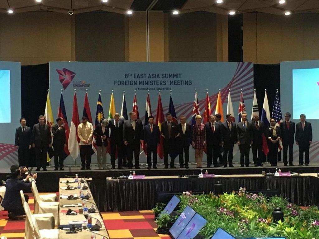 Paparkan Konsep Indo-Pasifik, Menlu Singgung soal Sentralitas ASEAN