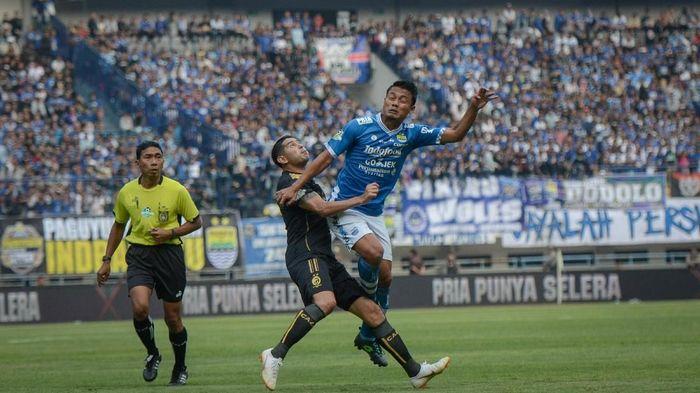 Persib Bandung menolak melepas Dedi Kusnandar ke Timnas Indonesia untuk laga ujicoba (ANTARA FOTO/Raisan Al Farisi)