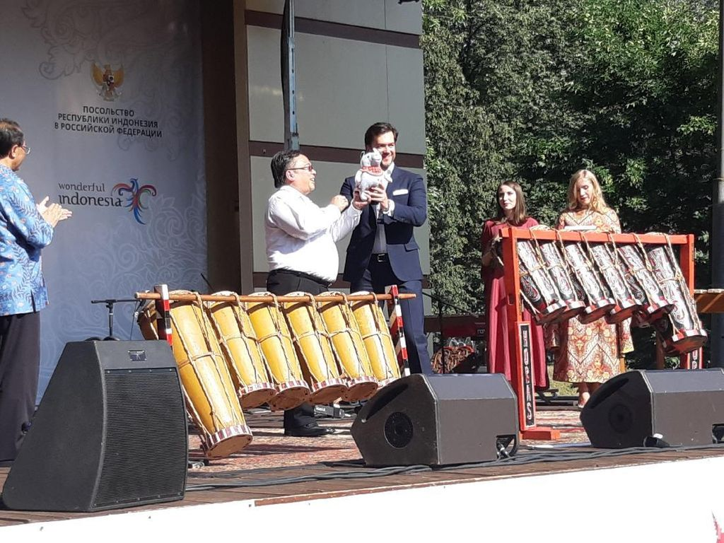 Kepala Bappenas dan Wali Kota Moskow Puji Festival Indonesia