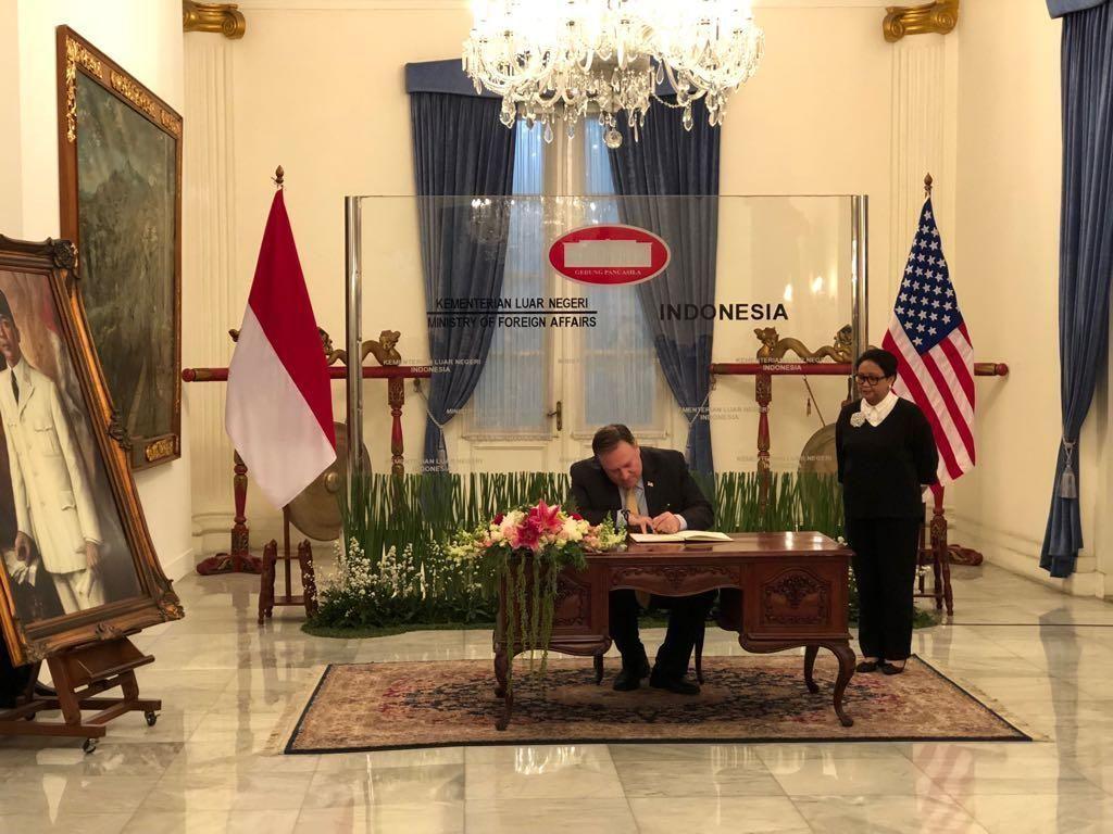 Setelah dari Singapura, Menlu RI-AS Bertemu di Jakarta