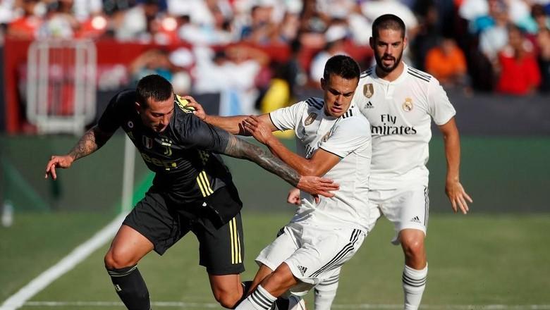 Hasil ICC 2018: Real Madrid Taklukkan Juventus 3-1