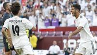Asensio yang musim lalu tampil apik dengan 11 gol di 53 pertandingan boleh jadi sedang menunjukkan bahwa dirinya layak diberi kesempatan lebih di musim ini. Khususnya setelah kepergian Cristiano Ronaldo. (Foto: Geoff Burke-USA TODAY Sports/REUTERS)