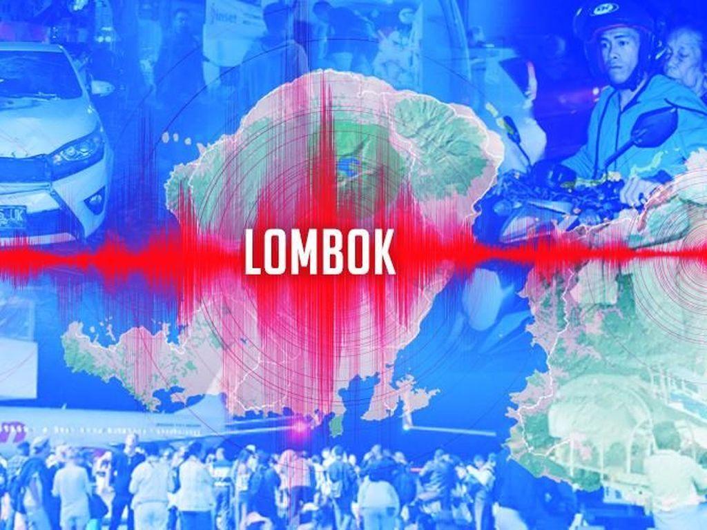 Gempa Lombok, Telekomunikasi Terganggu Listrik Padam