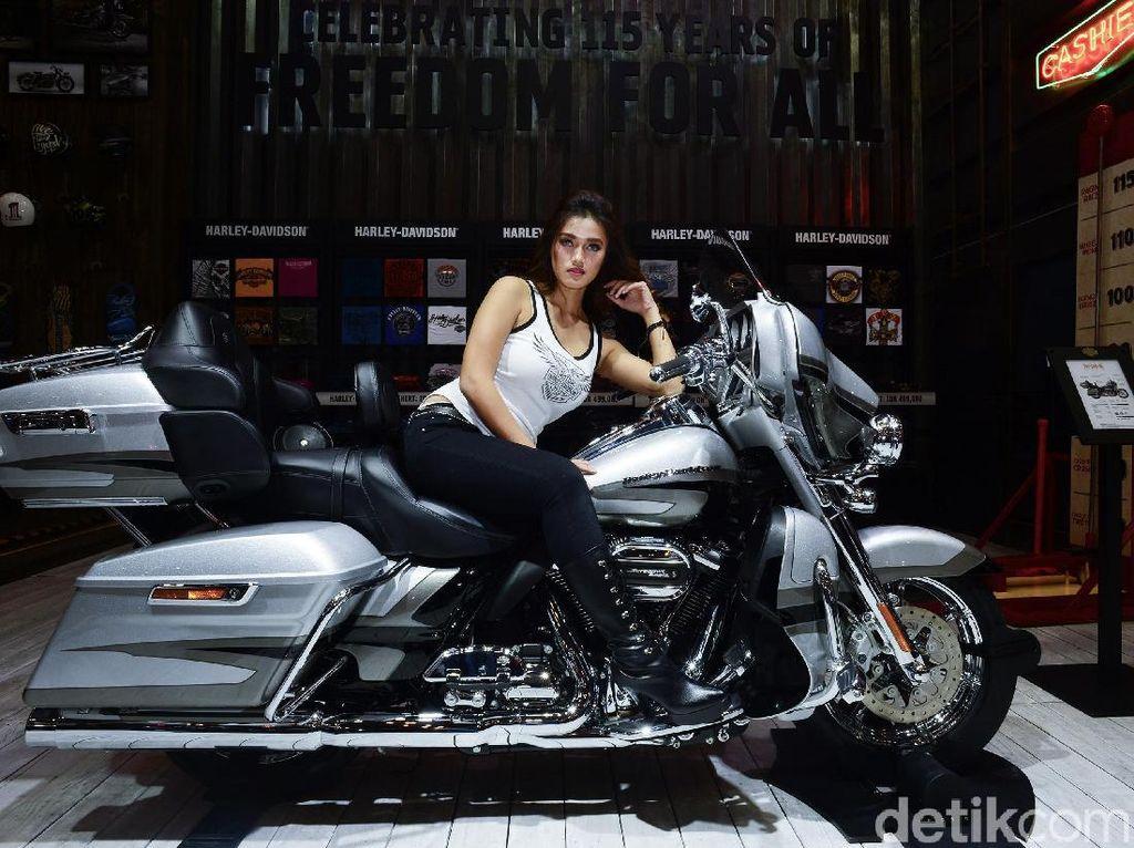 Tak Seperti Skutik, Moge Harley Itu Motor Hobi untuk Orang Berduit