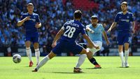 Babak I: Gol Aguero Bawa City Ungguli Chelsea