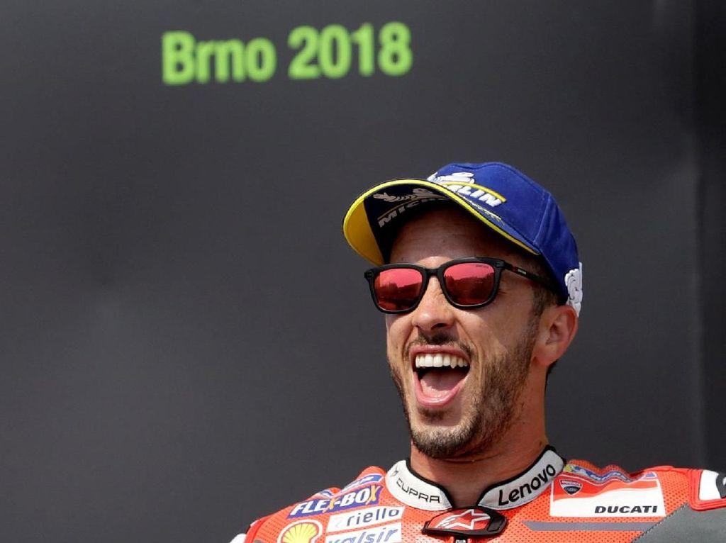 Dovizioso Tak Menyangka Bisa Menangi MotoGP Republik Ceko
