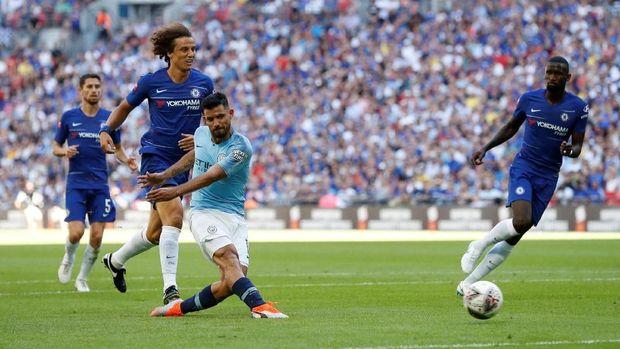 Sergio Aguero mencetak 204 gol dari 299 penampilan bersama Manchester City.