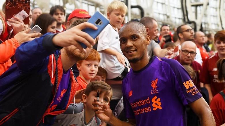Fabinho Tunggu Kesempatan Debut di Liverpool