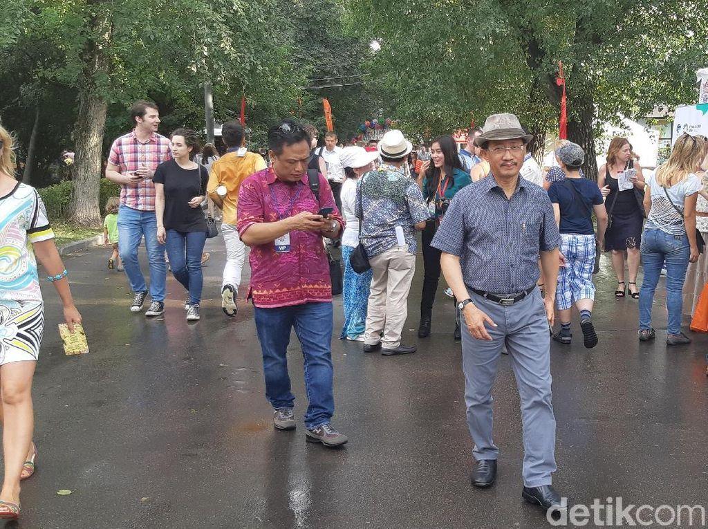 Hingga Hari Kedua, 87 Ribu Orang Hadiri Festival Indonesia di Moskow