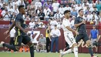 Di babak kedua, masuknya Marco Asensio jadi perbedaan untuk Madrid. Asensio langsung membawa Madrid membalikkan kedudukan di menit ke-47. (Foto: Geoff Burke-USA TODAY Sports/REUTERS)
