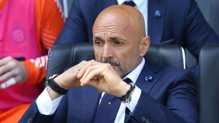 Luciano Spalletti mengaku senang dengan skuat Inter Milan kendati belum juga mendapatkan Luka Modric ( Foto: Gabriele Maltinti/Getty Images)