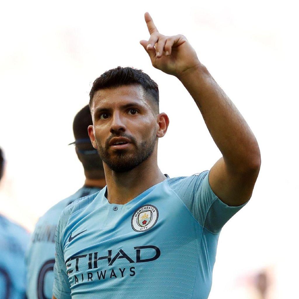 Sergio Aguero Resmi Perpanjang Kontrak dengan City