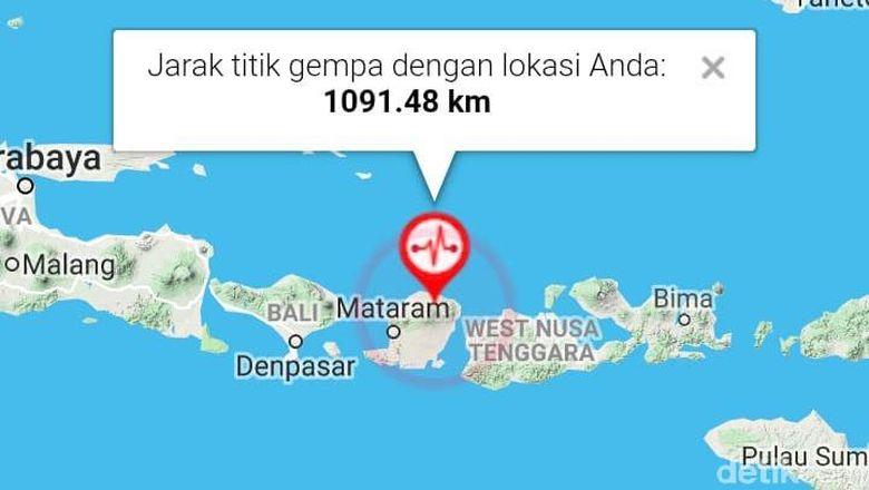Ibu Hamil Dilarikan ke RS Denpasar sebab Jatuh Saat Gempa NTB
