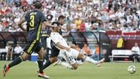Asensio bahkan menggandakan golnya di menit ke-56, sekaligus memperlebar selisih skor. (Foto: Geoff Burke-USA TODAY Sports/REUTERS)