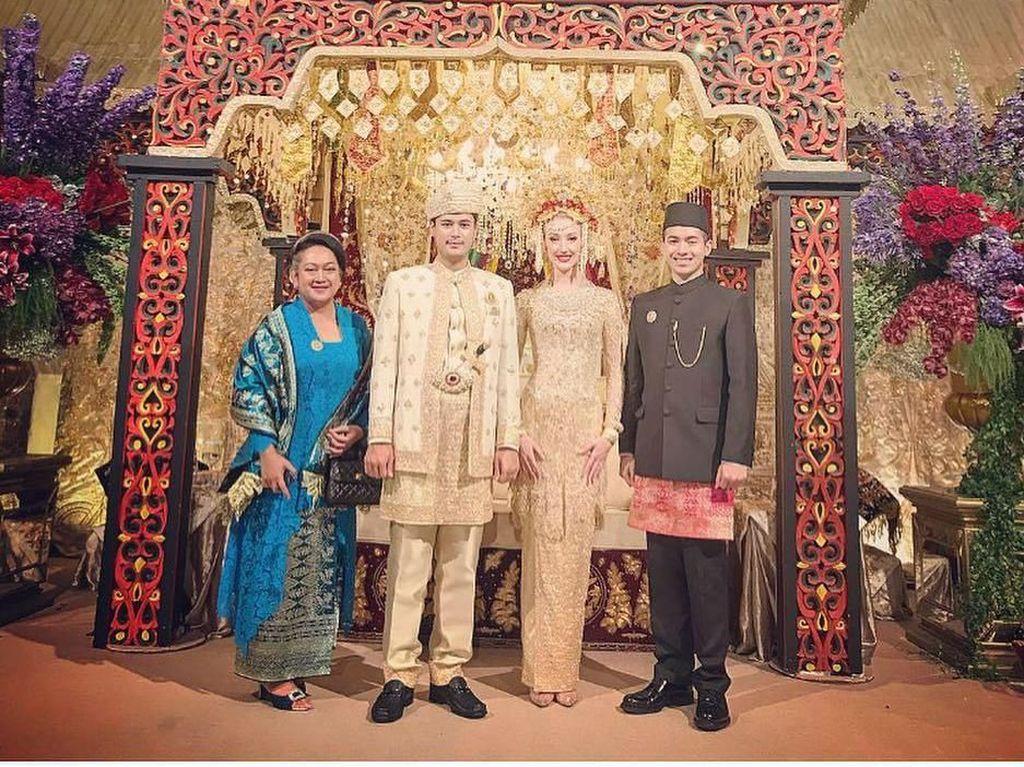Foto: Momen Sakral Pernikahan Panji Trihatmodjo dalam Adat Jawa dan Minang