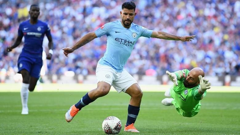 Hasil Community Shield 2018: City Juara Usai Kalahkan Chelsea 2-0