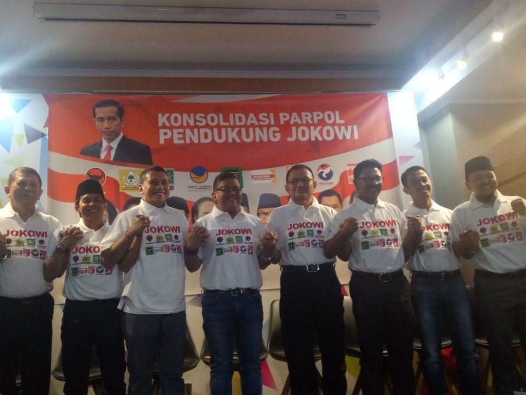 Begini Peta Tim Pemenangan Jokowi dan Bentuk Nawacita Jilid II