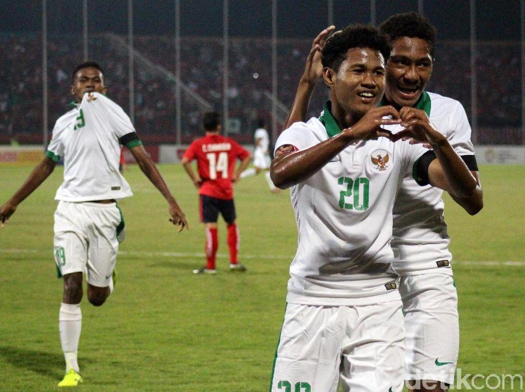 Hasil Penjualan Tiket Timnas U-16 vs Kamboja Disumbangkan untuk Korban Gempa Lombok