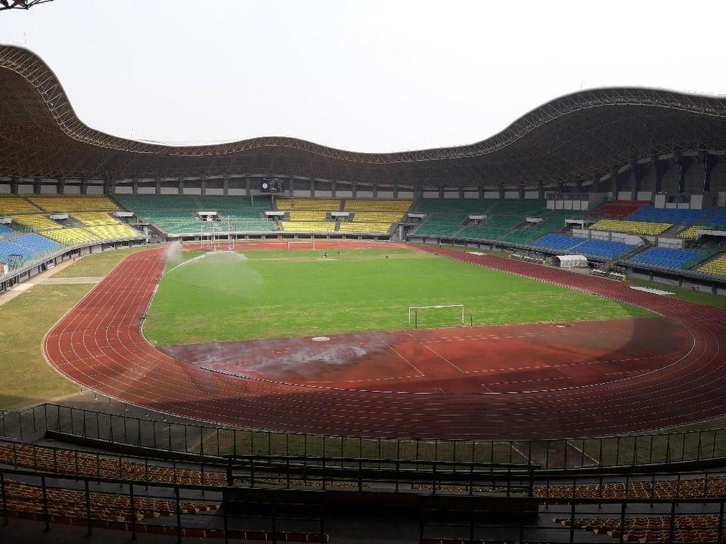 Begini Kesiapan Stadion Patriot Candrabaga Sambut Asian Games