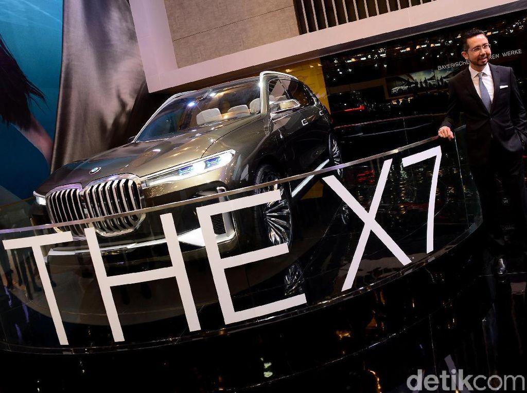 Tampang Anyar SUV Termewah dari BMW