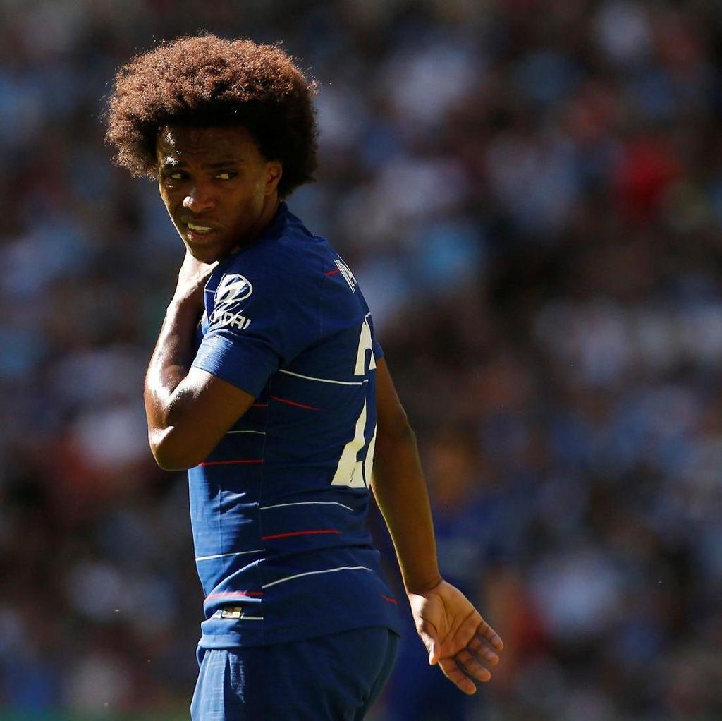Willian Takkan Bertahan di Chelsea jika Masih Ada Conte