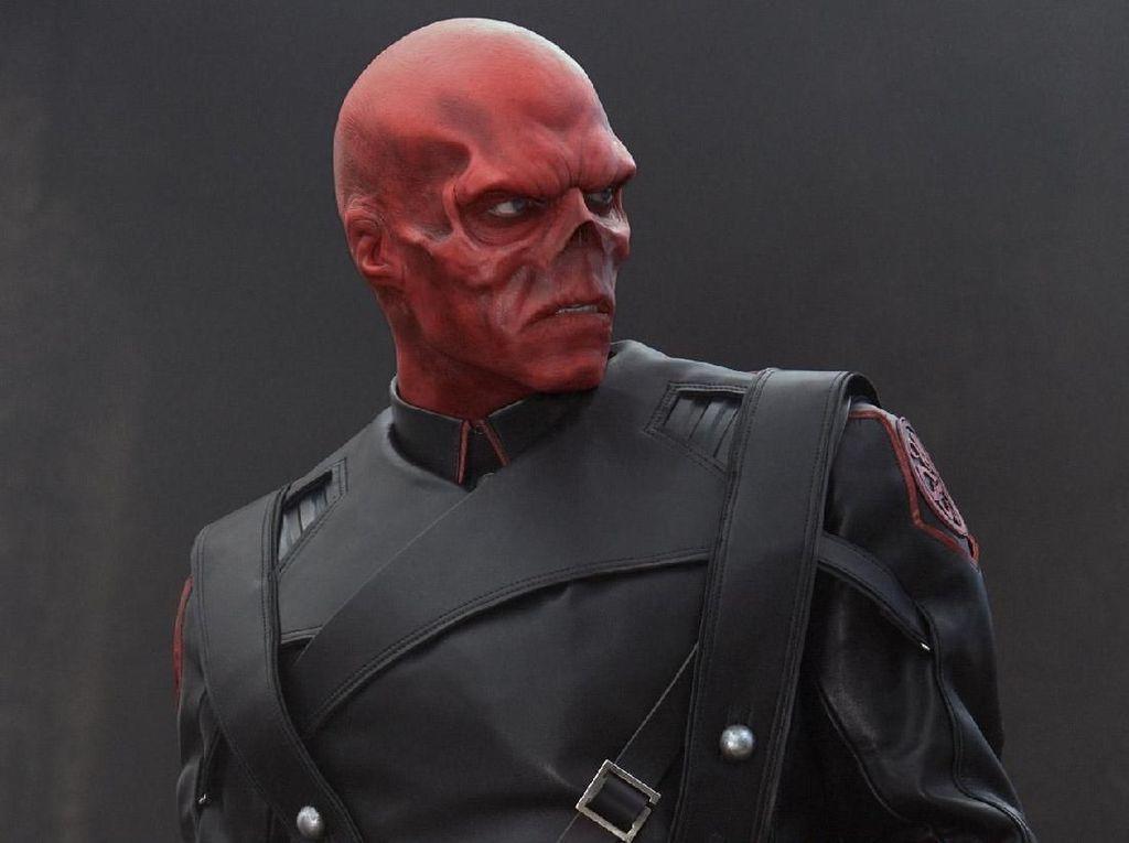 Red Skull di Infinity War Awalnya Punya Penampilan Beda dengan Film