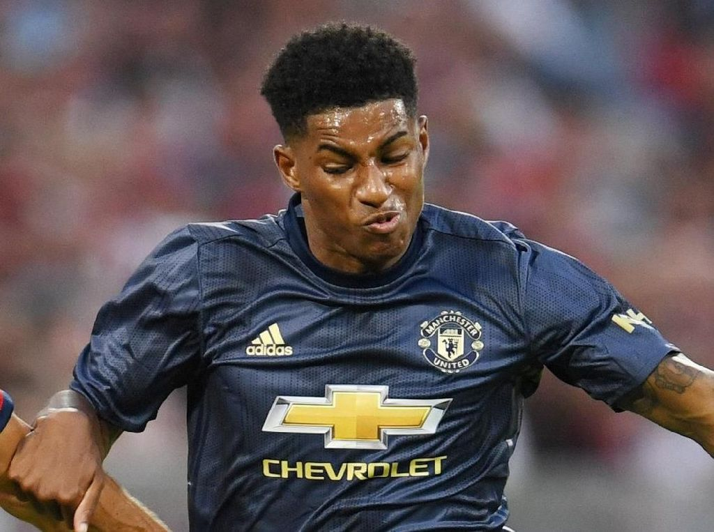 Selama Ada Lukaku dan Mourinho, Rashford Sulit Penuhi Potensinya