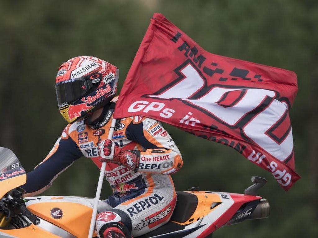Marquez di Balapan MotoGP ke-100: Lebih Fokus ke Otak, Bukan Hati