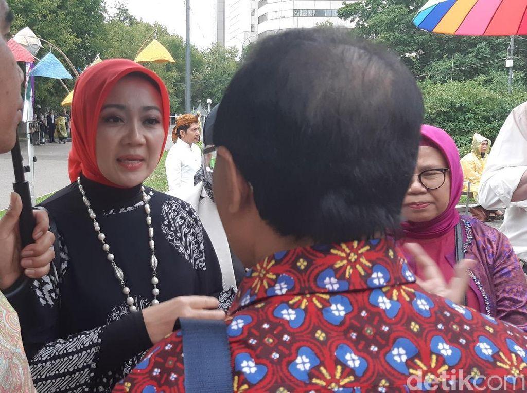 Istri Ridwan Kamil Hadir di Moskow, Kagum Lihat Festival Indonesia
