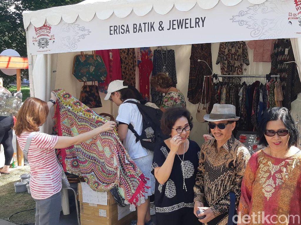 Dubes RI untuk Rusia Senang Fashion-Makanan RI Diminati Warga Moskow