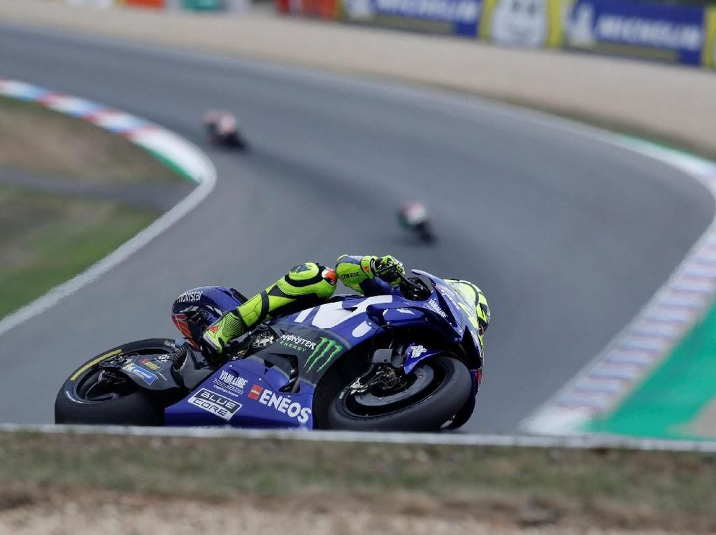Finis Keempat di MotoGP Ceko, Valentino Rossi Lewati 6.000 Poin