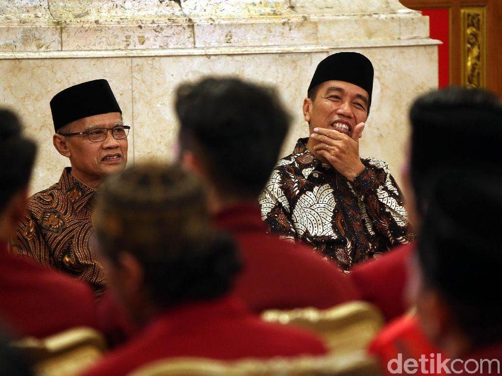 Ikatan Mahasiswa Muhammadiyah Temui Jokowi di Istana