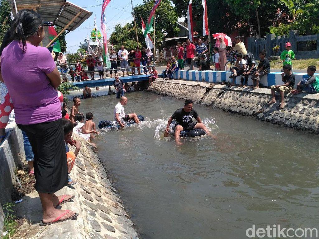 Begini Serunya Agustusan di Situbondo Plus Kampanye Kali Bersih