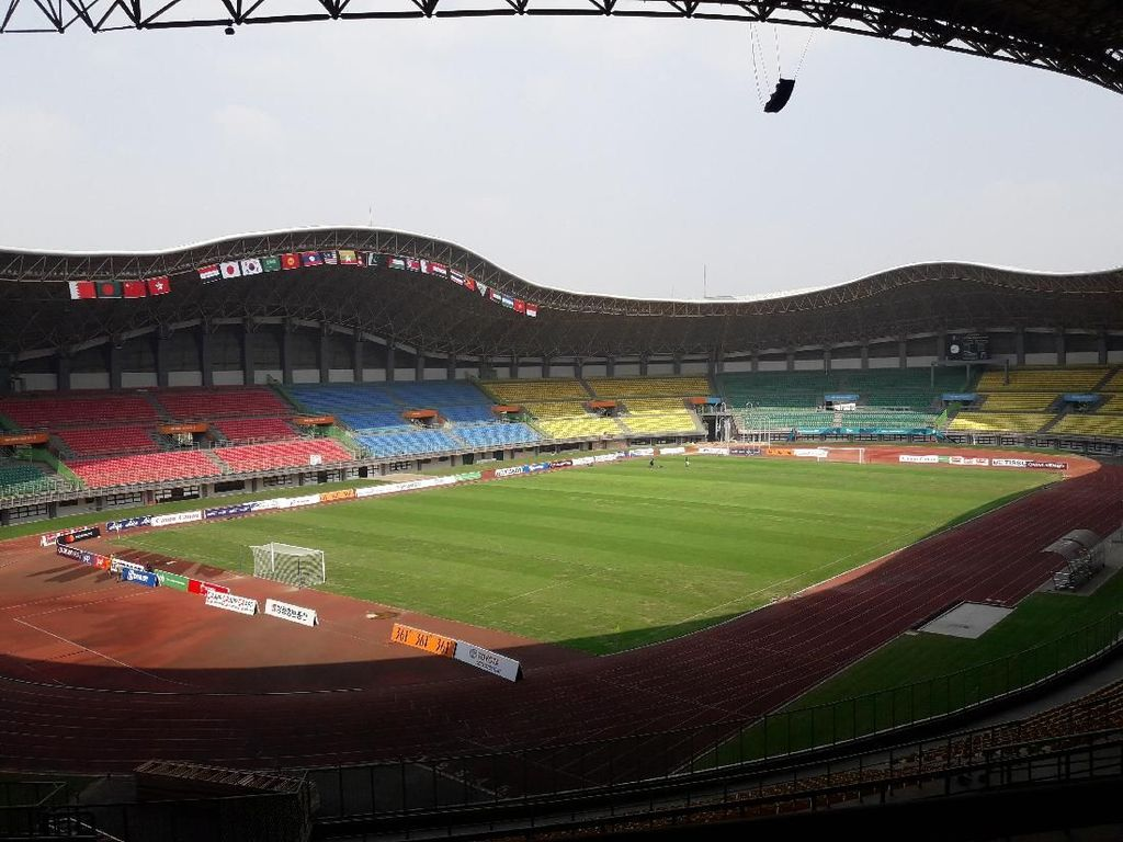 Stadion Patriot Candrabaga Siap Sambut Asian Games 2018