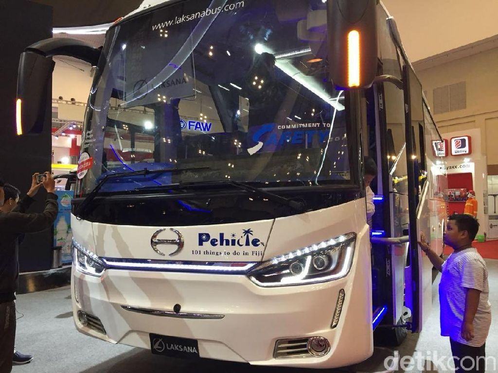 Diserbu Bus-bus Eropa, Bus Jepang Pede Bersaing di RI