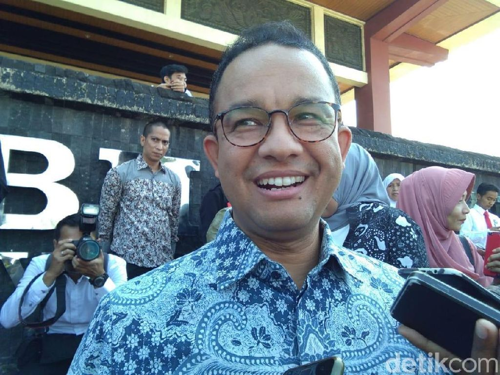 Anies Akui Tahu Isu Sandiaga Jadi Cawapres Prabowo