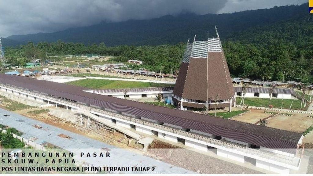 Keren! Pasar Megah Dibangun di Kalimantan hingga Papua