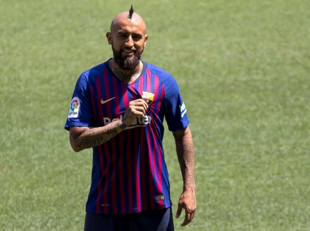 Gabung Barcelona, Vidal Bicara Tentang Messi