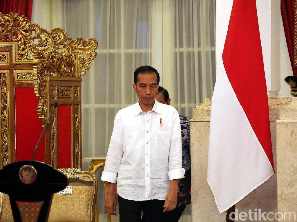 Jokowi Rapat Bahas Rupiah Keok Lawan Dolar AS, Ini Hasilnya