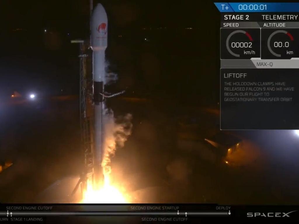 Satelit Resmi Meluncur, Twitter Dibanjiri #SatelitMerahPutih
