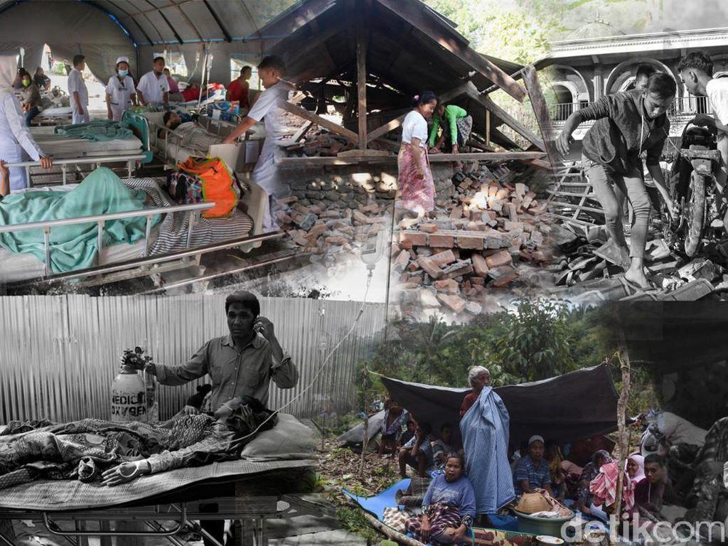 Nestapa di Pulau Lombok