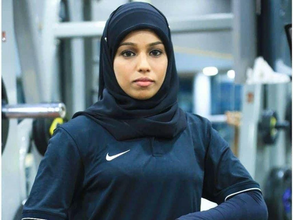 Ini Majiziya Bhanu, Atlet Angkat Beban Berhijab Pertama di India