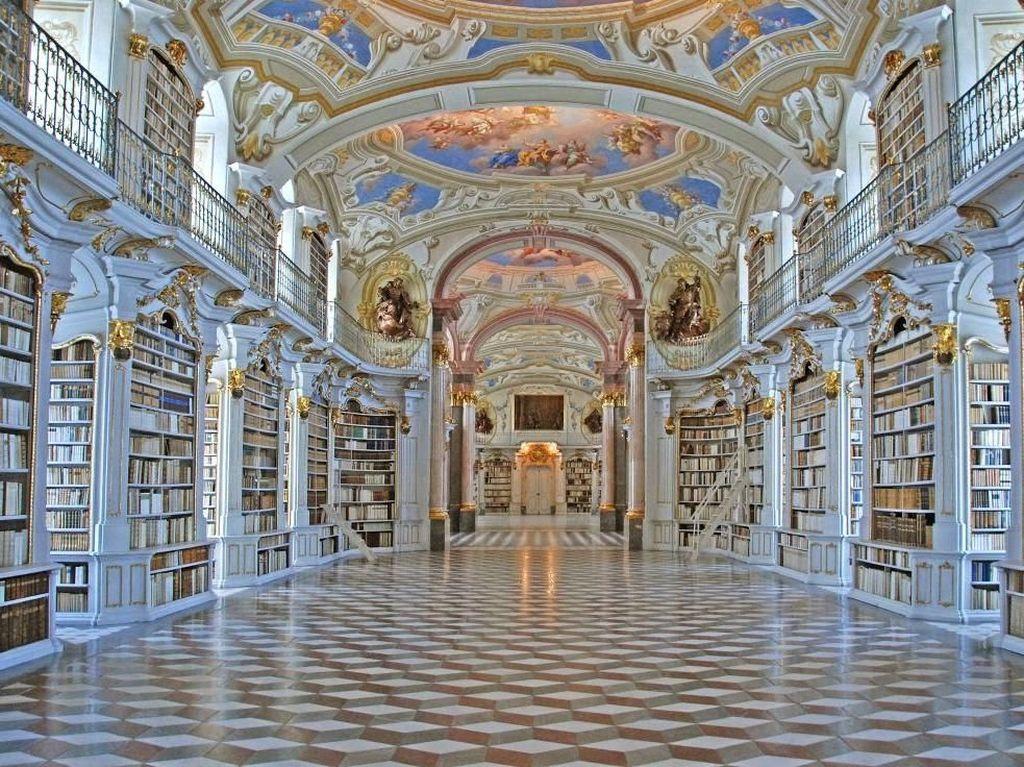 Bukan Istana, Ini Perpustakaan-perpustakaan Terindah di Dunia