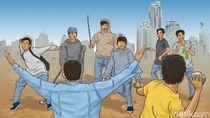 Tawuran Remaja di Pancoran Mas Depok, 1 Orang Tewas Kena Bacok