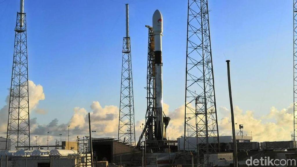 Penampakan Satelit Merah Putih Jelang Mengangkasa di Markas NASA