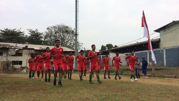 Timnas U-16 Pelajar Kemenpora bersiap hadapi Gothia Cup (dok.Kemenpora)